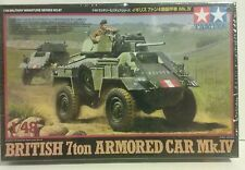 Tamiya 1/48 scale British 7 ton Armored car Mk.lV