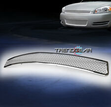 2006-2013 CHEVY IMPALA/MONTE CARLO MAIN UPPER STAINLESS STEEL MESH GRILLE GRILL