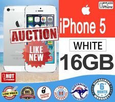 Apple iPhone 5 16GB WHITE Smartphone as NEW UNLOCKED FAST Shipping WARRANTY