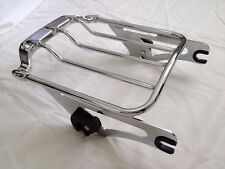 Chrome Air Wing Two Up Luggage Rack For Harley HD Touring Street Glide 2009-2018