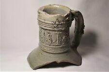 Raeren stoneware Jug fragment  c. 1580's     Bellarmine