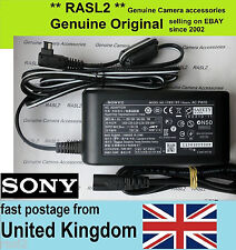 Original SONY AC Adaptor AC-PW10 am NEX- FS700 VG10, α77 II, A99V,a58, a65 ,a68