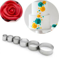 Stainless Steel Round Cutting Mold Pottery Ceramic Polymer Clay Tools Cutter Dz