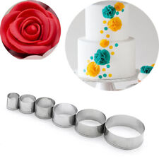 Stainless Steel Round Cutting Mold Pottery Ceramic Polymer Clay Tools Cutter Se