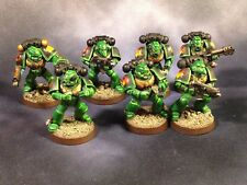 Warhammer 40k Space Marine Salamanders Tactical Marines Missing Bolters Painted