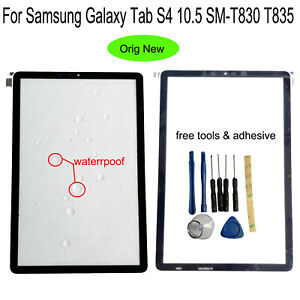 For Samsung Galaxy Tab S4 10.5 SM-T830 T835 T837 Outer Front Glass Screen Lens