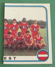 N°57 EQUIPE TEAM PARTIE 2 BREST STADE BRESTOIS SB PANINI FOOTBALL 83 1982-1983