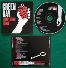 CD Green Day American Idiot POP ROCK PUNK EUROPE 2004 no lp mc dvd vhs(ST2)