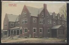 Postcard LODI Ohio/OH  Early 1900's Taylor Tourist Inn & Drug Store #3 view 1907