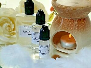 BABY LOTION LUXURY FRAGRANCE OILS BY HOME SCENTS, SIZES 10ml 30ml 60ml  FREE P&P