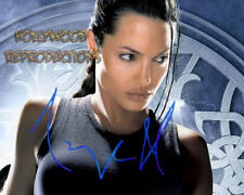 REPRINT - ANGELINA JOLIE 2 ~ Autographed signed photo 8x10