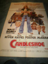 CANDLESHOE(1977)JODIE FOSTER ORIG ONE SHEET POSTER+