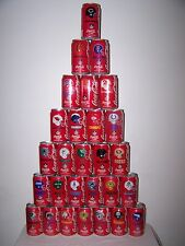Classic Coca-Cola 1992 NFL Collector Series - Complete 28 Can Set - Very Good #1