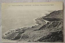 """CPA """" Environs de Cherbourg - GREVILLE - Les Falaises"""