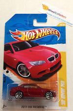 '10 BMW M3 #26 Premiere * RED * 2011 Hot Wheels * A23