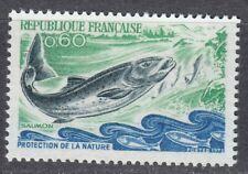 France 1972 MNH Mi 1794 Sc 1338 Salmon ,fish **