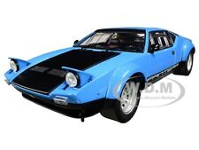 DE TOMASO PANTERA GT4 BLUE & BLACK 1/18 DIECAST MODEL CAR BY KYOSHO 08853 BL