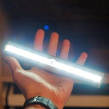 10LED Bright PIR Motion Sensor Light Cabinet Wardrobe Drawer Lamp Bulb 15S Delay