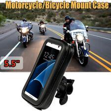 Motorcycle Phone Holder Support Bike HandlebarStand Waterproof Mobile Mount Case