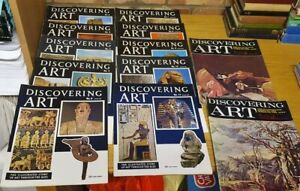 A Collection Of Discovering Art Magazines