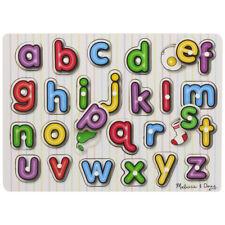 English Alphabet Plastique Cubes Bloks Puzzle 12psc