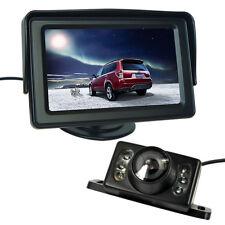4.3'' Vehículo LCD Monitor Pantalla+ Coche Cámara IR Reserva Retrovisor Trasera