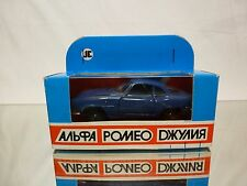 MADE IN USSR CCCP - ALFA ROMEO SPRINT SPECIALE - BLUE 1:43 - EXCELLENT IN BOX