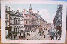 Irish Postcard ROYAL AVENUE BELFAST Northern Ireland Francis Frith & Co Germany
