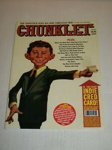 CHUNKLET MAGAZINE #14 (1996) Mad Magazine Parody, Cease & Desist Issue