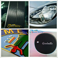 alfa romeo giulietta adesivi sticker decal montanti porte tuning carbon look