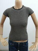 Maglia ARMANI donna taglia size 38 maglietta t-shirt woman viscosa P 5523