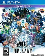 World of Final Fantasy Day One Edition *New* (Sony PlayStation Ps Vita, 2016)