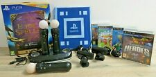 PlayStation Move Bundle 3 Motion Controllers, 2 Cameras & 4 Games - PS3 PS4 PSVR