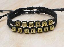 Couples Bracelet  Always Forever Bracelet  Romantic Bracelet  Anniversary Gifts