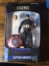 marvel legends captain america endgame