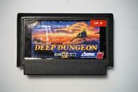 Famicom Deep Dungeon Japan FC game US Seller