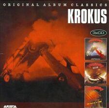 Original Album Classics [Slipcase] by Krokus (CD, Sep-2012, 3 Discs, Sony Music Distribution (USA))