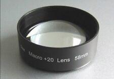 Makrolinse +20D 58mm, die stärkste!