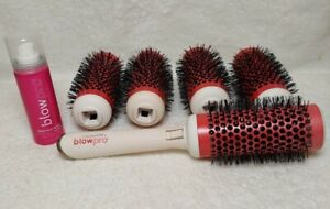 Blowpro CLICK n CURL Blowout Brush Set Heat Activated LARGE New No Box