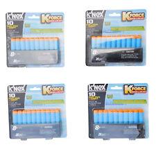 K-Force 4 Packungen 10´er Pfeile mit Zielscheibe Dart Pack Darts K´Nex 47518