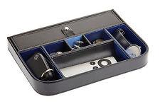 Premium quality valet tray desktop storage case cufflinks watch organiser box