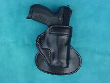 Ruger SR 22   paddle holster leather black