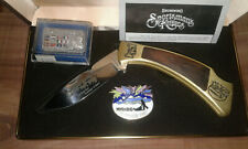 Alaska IDITAROD Special Edition Browning knife, with Iditarod commemorative pins