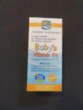 Nordic Naturals Baby's Vitamin D3 400 I.U. D3 0.37 Oz 365 Servings @N