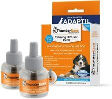 ThunderEase Dog Calming Pheromone Diffuser Refill Powered ADAPTIL Vet 2 PACK *Z