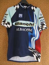 Maillot Cycliste ATB Bianchi Martini Racing SMS Santini Jersey cycling - L