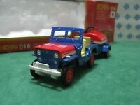 RARE Vintage  -  Mitsubishi Jeep J3R Airport Service  -  1/43 Dandy Tomica n°016