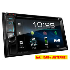 KENWOOD 2-DIN DAB+/DVD/Bluetooth Auto Radioset für KIA Sorento JC & Sportage JE