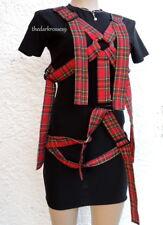 Minikleid von  Xtrax M 38 Gothic  Dress Punk Visual kei schnallen bänder   Neu