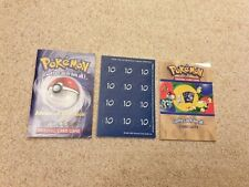 More details for pokemon cards wotc advanced rulebook v2, card list damage counters 1999 2000